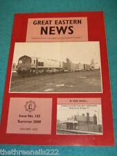 GREAT EASTERN NEWS #103 - SUMMER 2000 - IPSWICH & BURY SURVIVORS