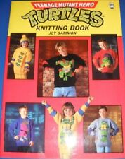 Teenage Mutant Hero Turtles Knitting Pattern Book By Joy Gammon