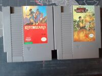 Nintendo NES Lot of 2 Games - Legacy of the Wizard, Operation Wolf  Tested