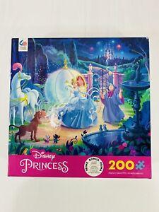 NEW Ceaco 2020 Disney Princess Cinderella 200 Piece Puzzle Ages 8+ Made In USA