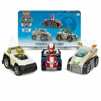 PAW Patrol True Metal Diecast 3 Vehicles - Ryder , Everest & Tracker