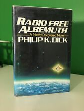 1985 Radio Free Albemuth Philip K Dick Book Club Edition Dust Jacket