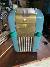 "Vintage Cromwell 518N Transistor Radio Little Jewel ""Fridge"" Rare Working"