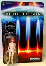 The Fifth Element Leeloo Action Figure Poseable Funko Straps Costume Reaction