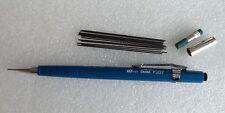 Pentel  0.7mm retractable refill pencil + spare lead  P207. Ref 2 made in Japan