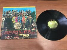 Beatles Vinyl LP Record St. Peppers Lonely Hearts Club Band SMAS 2653