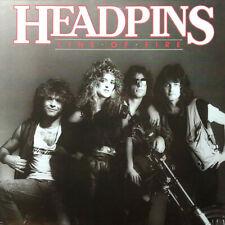 HEADPINS - LINE OF FIRE - vinyl LP Album, - MCF 3196