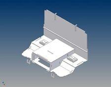 STK - Fahrerhausboden  für Tamiya Scania R- Maßstab 1:14 Trennwand Sitzkonsole