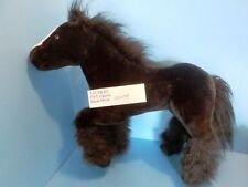 E & J Classics Black Horse with White Blaze plush(310-2820)