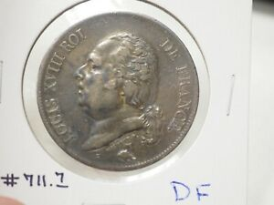 1824 K 5 Franc KM711.7 France # 3-72