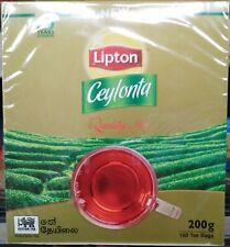 Pure Ceylon Tea - Lipton Ceylonta Sri Lankan Premium Black Tea - Fresh 100 bags