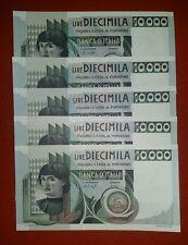 BANCONOTA 10000 LIRE CASTAGNO DECR 30 OTTOBRE 1976 FDS DA MAZZETTA