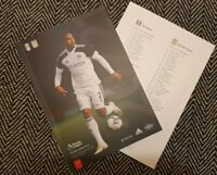 Fulham v Aston Villa PREMIER LEAGUE 2020/21 Match Programme 28/9/20! LAST TWO!!!