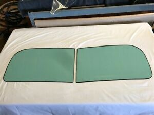 1944 Dodge pickup & Fargo, 2 Piece Original Windshield -OEM