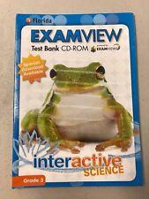 Florida Interactive Science ExamView Test Bank CD-ROM Grade 3