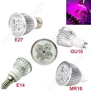 5W LED Plant Grow Light Bulb Lamp For Horticulture Flowering Plant