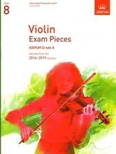 Examen de violín 2016-2019 grado 8 Violin & Piano Continua *