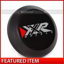 XXR Centercap Center Cap 654F-BK-BK-EMB 527 530 531 555 for Chromium Black Wheel