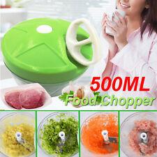 Manual Easy Pull Food Chopper Vegetable Blender Garlic Slicer Mincer  .☆a #z j*