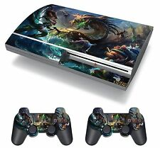 League of Legends Game Heroes Skin Sticker Decal Protector Playstation PS3 FAT