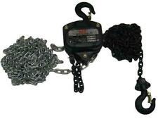 More details for heavy duty chain block & tackle 0.5 ton 10 metre (500kg 0.5t 10m lifting hoist)