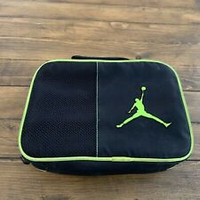 Air Jordan Soft Case Lunch Box Neon Green and Black Standard One Size