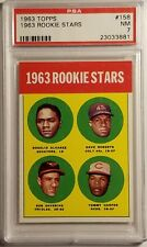 1963 Topps #158 1963 ROOKIE STARS - TOMMY HARPER REDS - PSA 7 NM