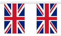 10m 33FT Union Jack Bunting Garland 20 Flags Great Britain GB Party Decorations