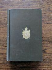 Rare Antique NOTRE-DAME DE PARIS by Victor Hugo 1888 Illustrated Gilt Scarce
