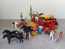 Playmobil western - Dilgence Personnages Décor Shériff - 3245 7222