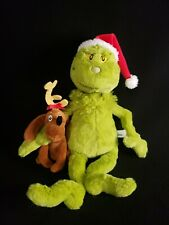 Manhattan Toy Dr. Seuss THE GRINCH & MAX Plush NEW Barnes & Noble Exclusive 2018