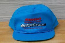 Rare Vtg Nebraska Peterbilt Ford Grand Island Rope Bill Snapback Hat Cap