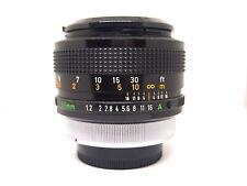*Rare*Canon FD 55mm f/1.2 S.S.C Aspherical  Lens