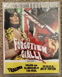 FORGOTTEN GIALLI Volume 1 Blu-Ray Vinegar Syndrome Trauma Italian Spanish Films