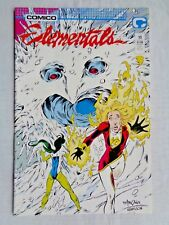 Elementals Vol 1 No 13 April 1987 Comico The Comic Company 1st Printing NM (9.4)