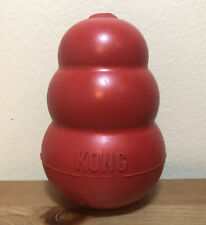 """KONG XL Dog Chew Toy Extra Large Red 5 Inches Aggressive Chewers 5"""" Rubber"""