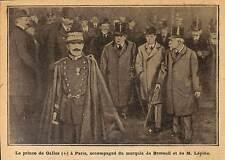 PARIS PRINCE DE GALLES WALLES MARQUIS DE BRETEUIL LEPINE ILLUSTRATION 1912