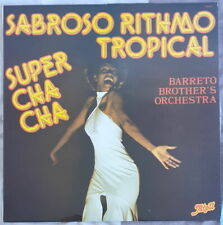 BARRETO BROTHER'S ORCHESTRA SABROSO RITHMO TROPICAL SIMPLE FRENCH LP ATOLL 1978