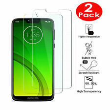 2X Tempered Glass Screen protector For Motorola Moto G7 Plus Power G8 Plus One