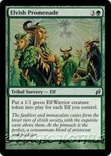 ELVISH PROMENADE Lorwyn MTG Green Tribal Sorcery — Elf Unc
