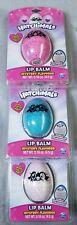 New Hatchimals Mystery Flavor Lip Balm Lot Of 3