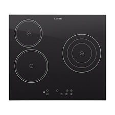 Klarstein 5300w 3 Zones Ceramic Glass Hob Oven Cooker 59x52cm Kitchen Cooking