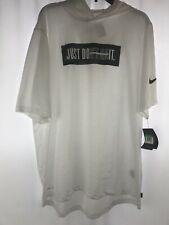 Nike Men's Hoodie Shirt Size Xl Short Sleeves Just Don't Quit