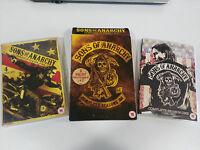 Sons Of Anarchy Stagioni 1-2 Figli de La Anarchia - 8 X DVD Spagnolo Inglese Am