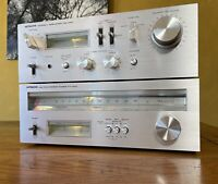 Beautiful 1977 HITACHI HA-330 Amplifier FT-340 Tuner Combo ~ JAPAN ~ Fantastic!