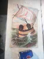Vintage Black Americana Reproduction Poster  Pillsbury Best is the Best