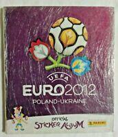 ALBUM EURO 2012 POLAND UKRAINE + SET COMPLETO FIGURINE EX SIGILLATO PANINI
