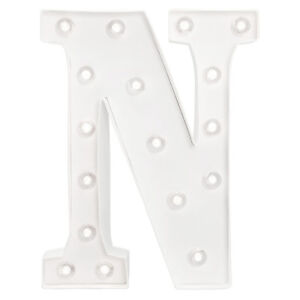 American Crafts Heidi Swapp 10 Inch Marquee Letters Letter N