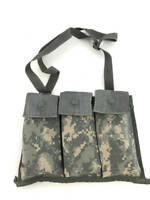 ACU 6 Magazine Bandoleer Pouch, MOLLE Mag Pouches Military Army Digital Camo