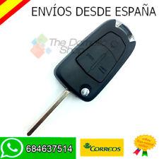 LLAVE CARCASA 3 BOTONES OPEL MERIVA MANDO FUNDA REPUESTO